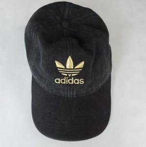 Adidas Faded Black Baseball Hat